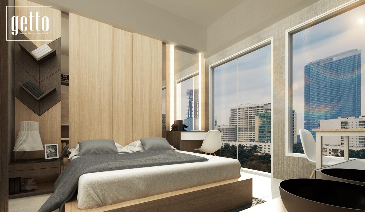 Getto Id Alliz Apartment Jakarta Jakarta Bedroom Modern  13556