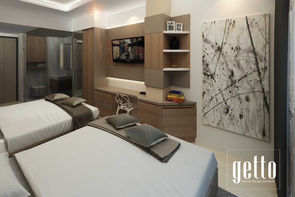 Getto Id Apartment Studio Bandung Bandung Bedroom Modern  14450