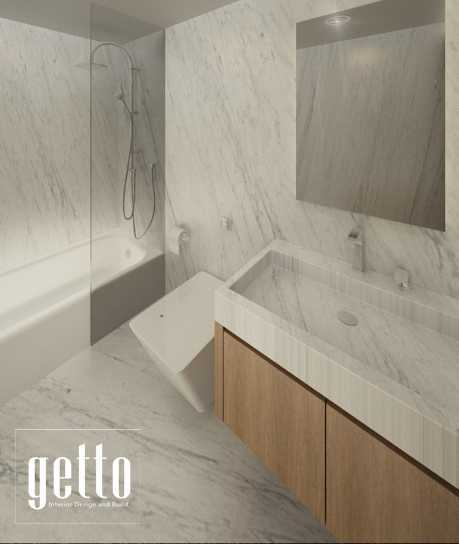 Getto Id Apartment Studio Bandung Bandung Bathroom Modern  14451