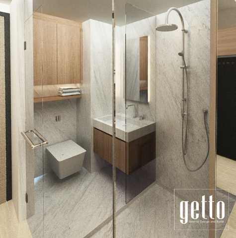 Getto Id Apartment Studio Bandung Bandung Bathroom Modern  14453