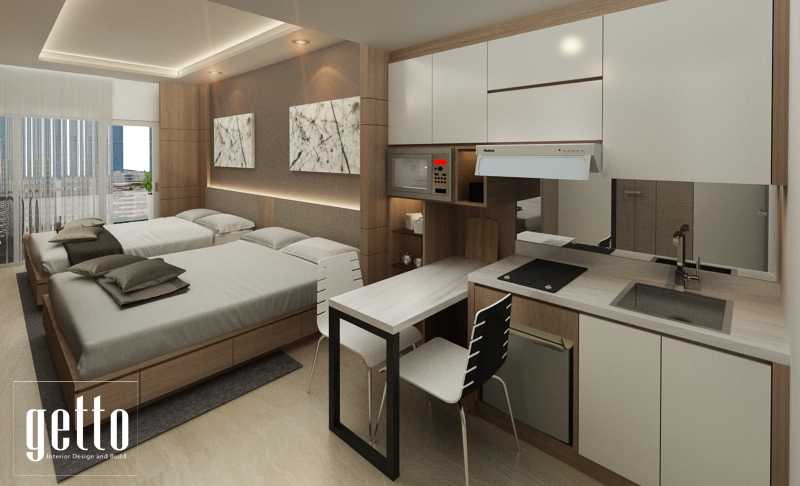 Getto Id Apartment Studio Bandung Bandung Bedroom Modern  14454