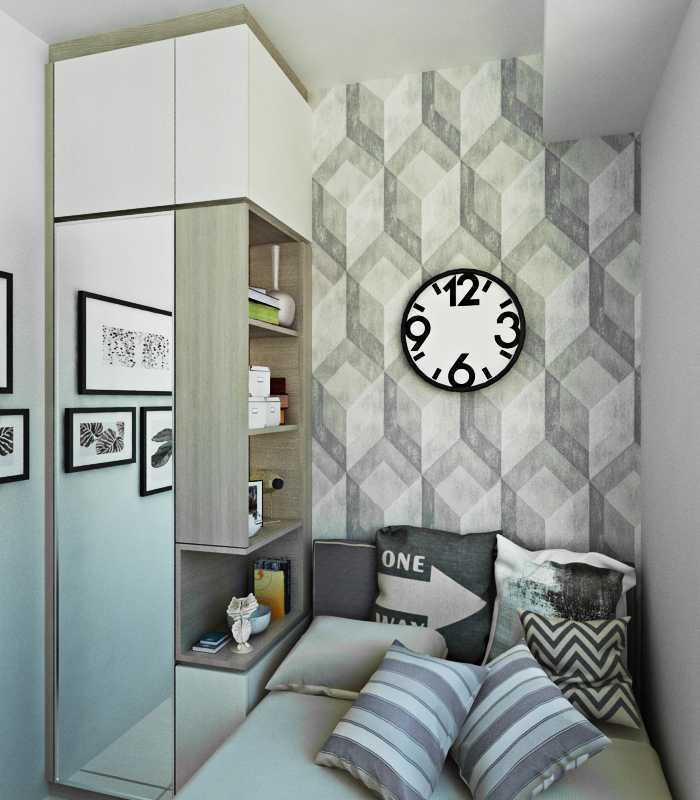 Getto Id Apartment Ayodhya 2 Br Tangerang City, Banten, Indonesia Tangerang City, Banten, Indonesia Bedroom-1 Skandinavia  33200