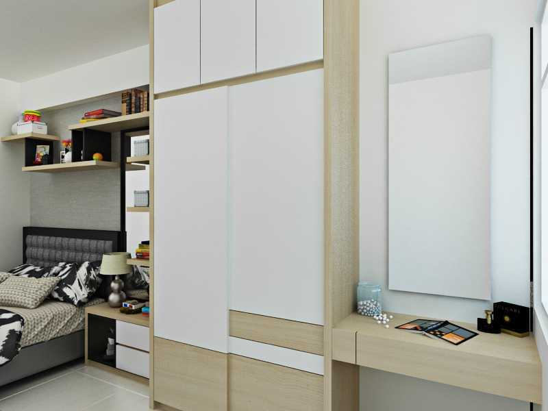Getto Id Apartment Ayodhya 2 Br Tangerang City, Banten, Indonesia Tangerang City, Banten, Indonesia Master-Bedroom-1-View-2 Skandinavia  33201