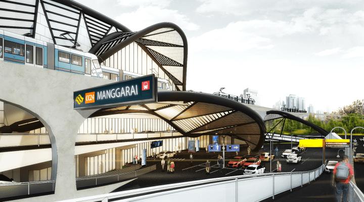 Rovinida Manggarai Transport Interchange Jakarta Jakarta Ext4 Kontemporer  13321