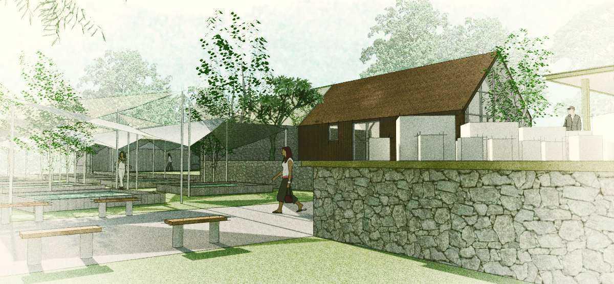 Arkitekt.id Cihanjuang Nursery Cihanjuang, Bandung Cihanjuang, Bandung Seating Area Modern Park And The Outdoor Area. 16917