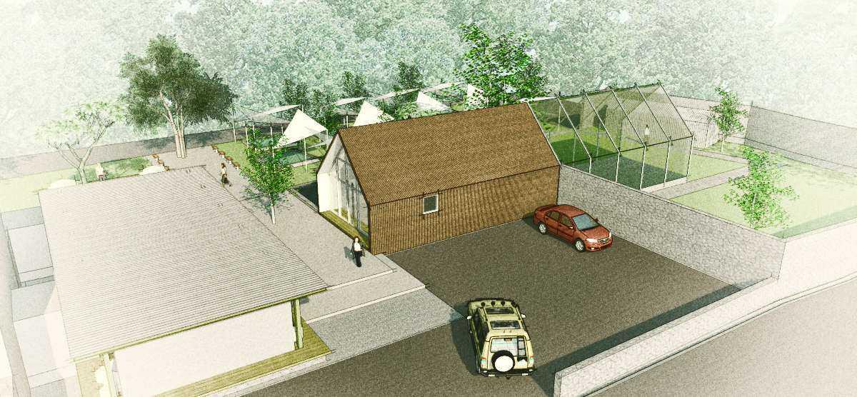 Arkitekt.id Cihanjuang Nursery Cihanjuang, Bandung Cihanjuang, Bandung Bird Eye View Modern Parking Area From Above. 16921