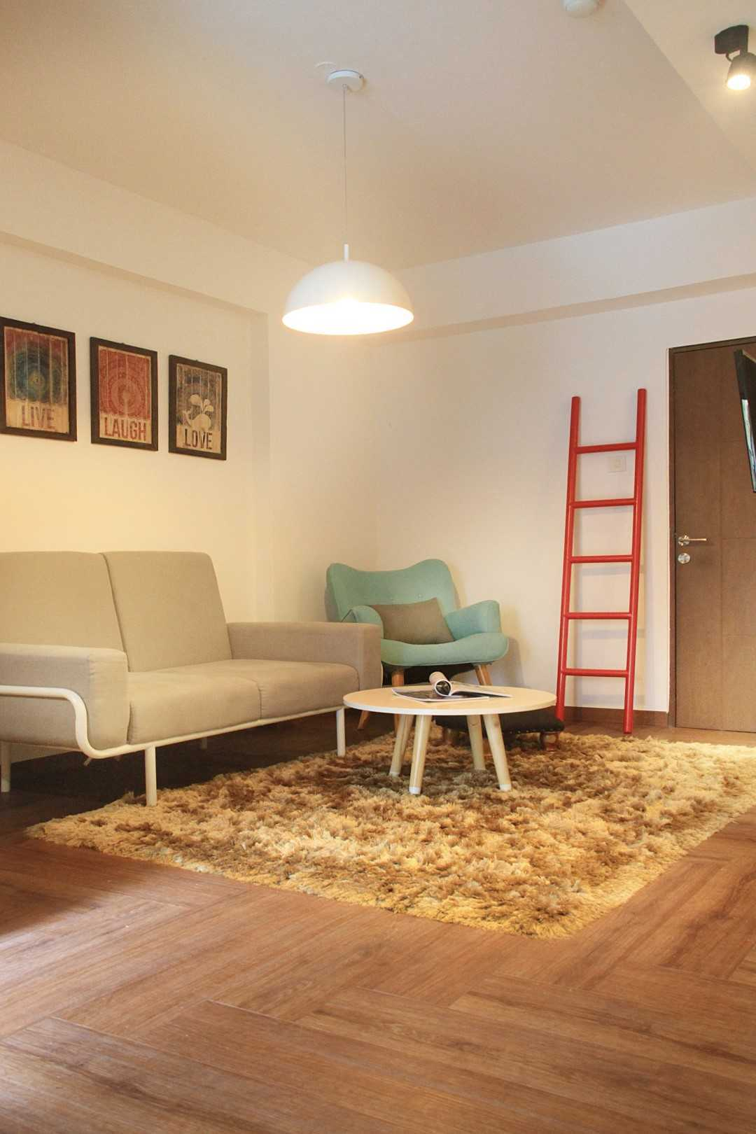 Arkitekt.id One (+One) Bedroom Apartment Bandung Bandung Living Room Modern  16950