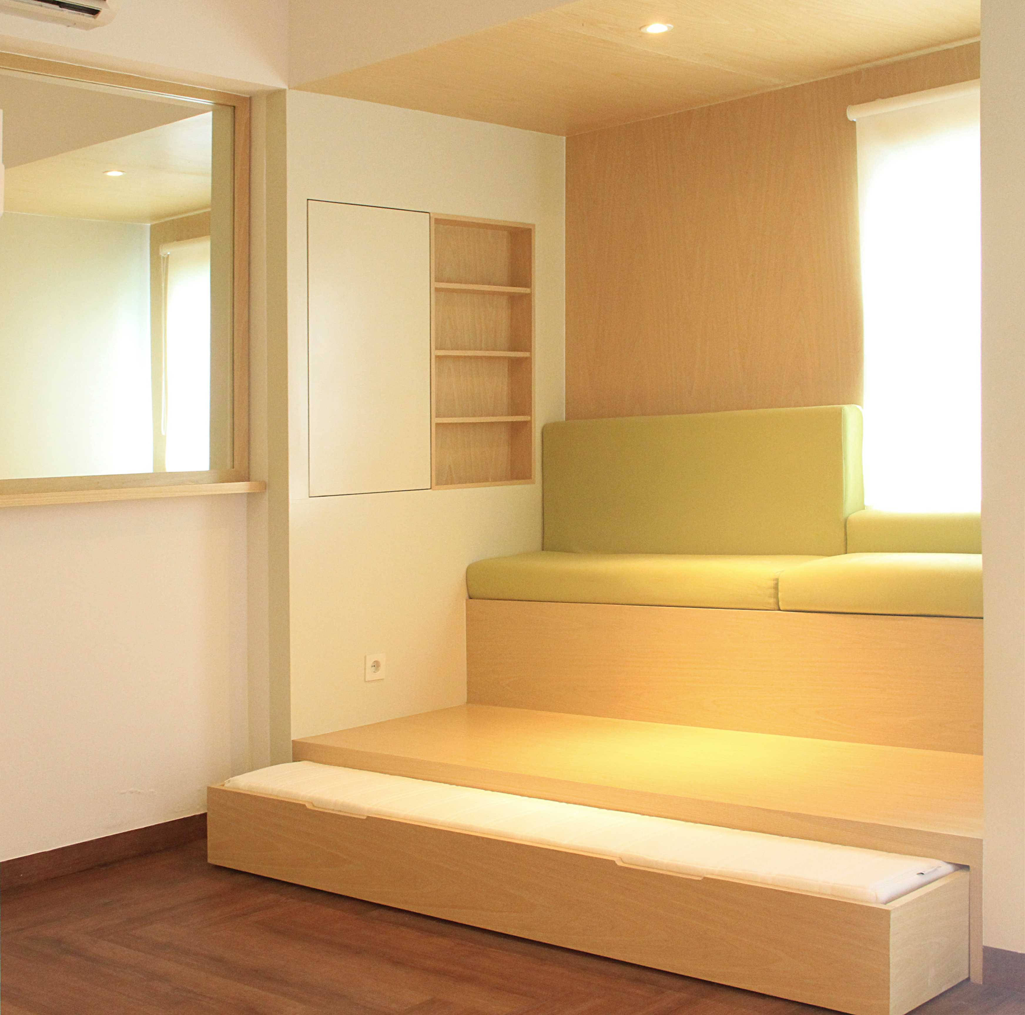 Arkitekt.id One (+One) Bedroom Apartment Bandung Bandung Multifunction Space Modern  16953