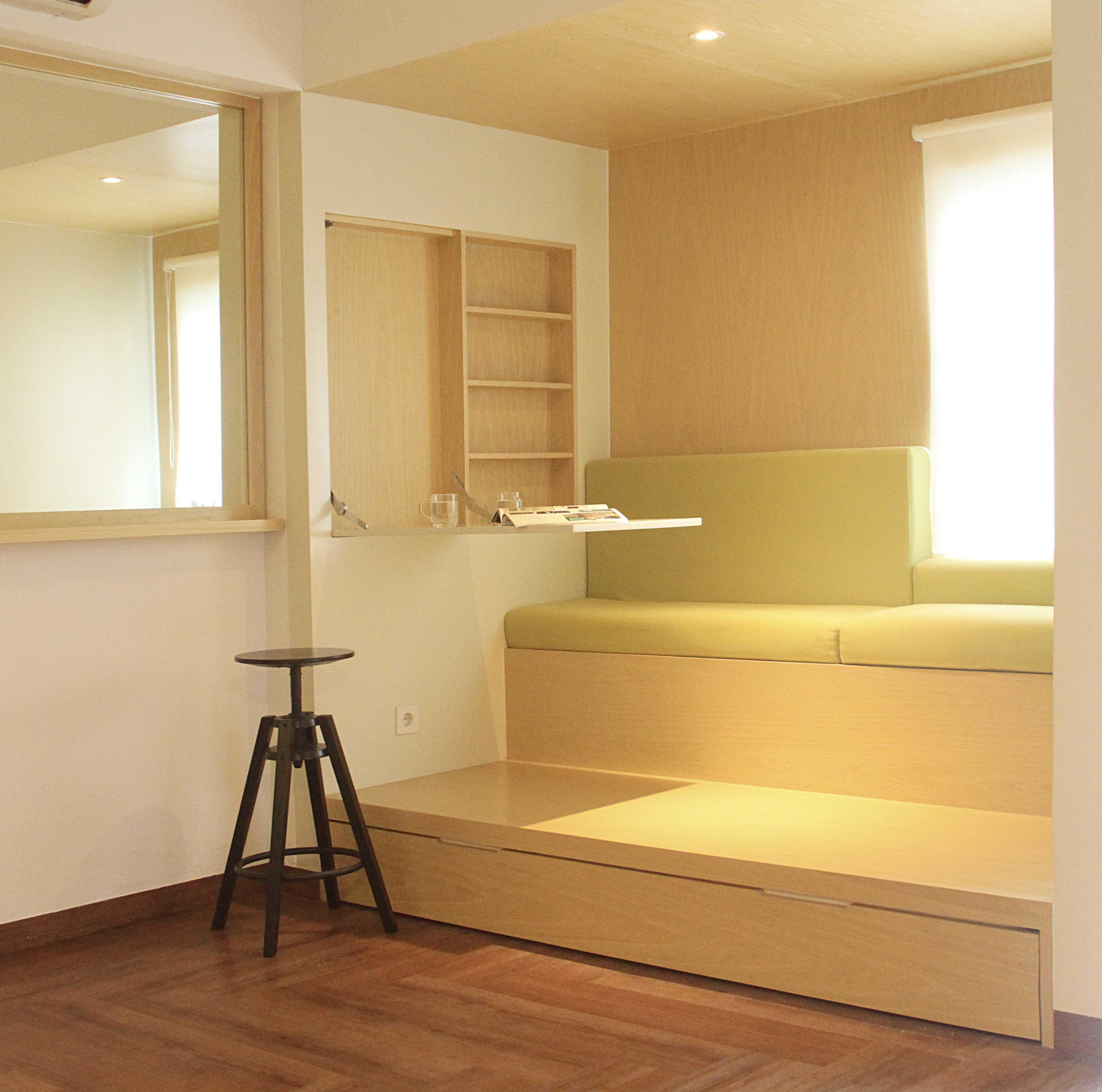 Arkitekt.id One (+One) Bedroom Apartment Bandung Bandung Multifunction Space Modern  16954