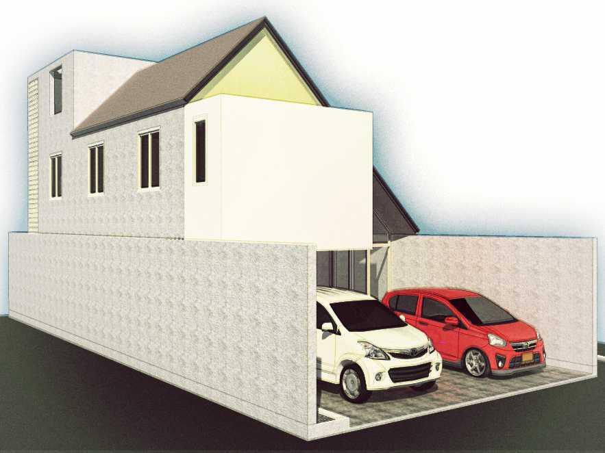 Arkitekt.id Taman Rahayu House Bandung Bandung Tampak Muka   20652