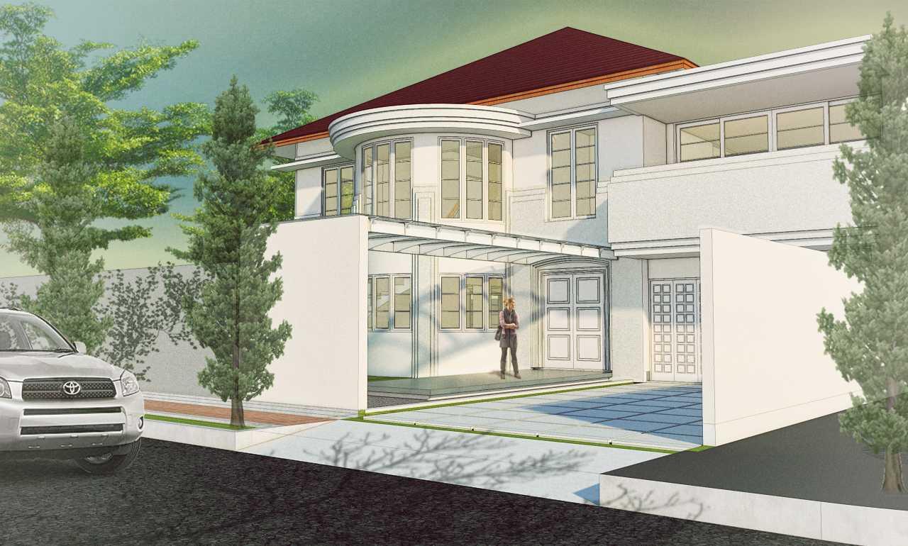 Arkitekt.id Setraduta Kencana Bandung Bandung Entrance Modern  29595