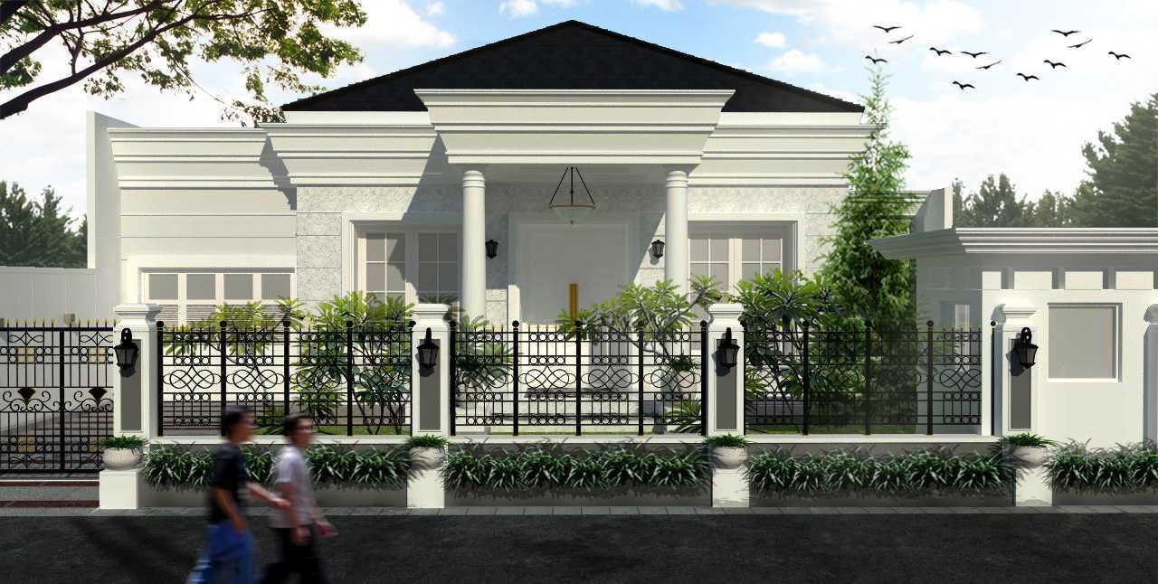 Photo Pagar Depan Siang 2 Cipulir House 2 Desain Arsitek Oleh Tama Techtonica Arsitag