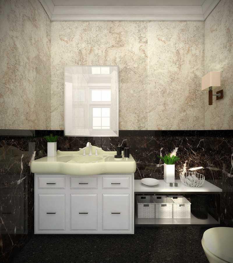 Tama Techtonica Pesona Khayangan House Depok Depok Bathroom Klasik,modern  13609