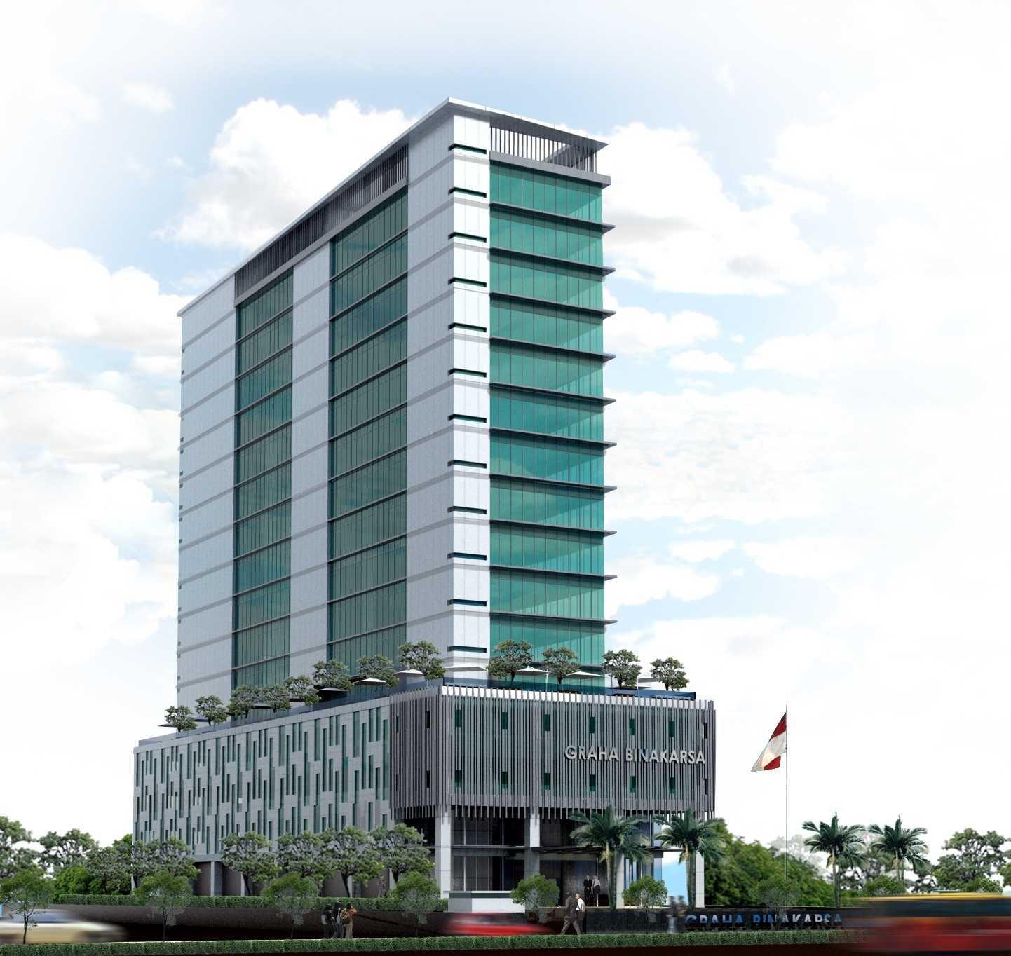 Tama Techtonica Graha Binakarsa H.r.rasuna Said, Jakarta H.r.rasuna Said, Jakarta Front-View   19003