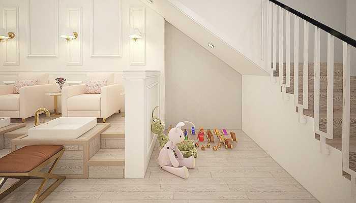 7Design Architect Nail Art House Pontianak Pontianak Pontianak Nursery Area Klasik  16744