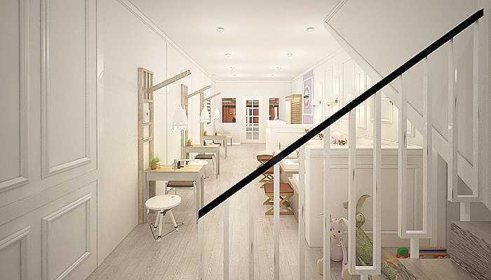 7Design Architect Nail Art House Pontianak Pontianak Pontianak Stairs Klasik  16748