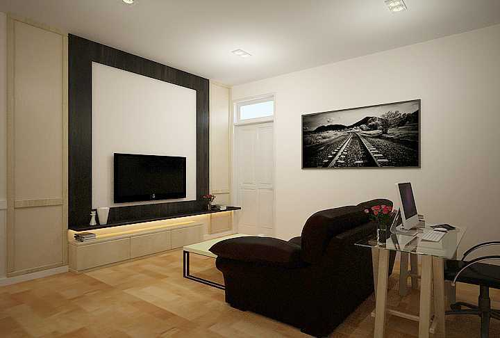 7Design Architect Bedroom For Mr. H Villa Gading Indah Villa Gading Indah Livingroom Kontemporer  16756
