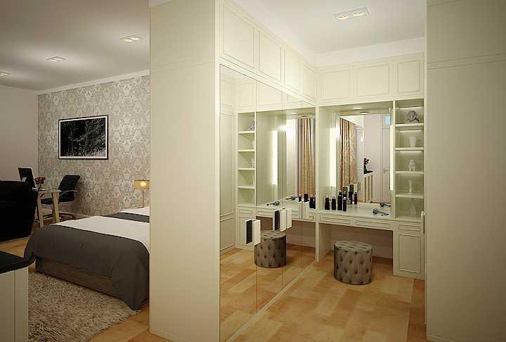 7Design Architect Bedroom For Mr. H Villa Gading Indah Villa Gading Indah Wardrobe Minimalis  16760