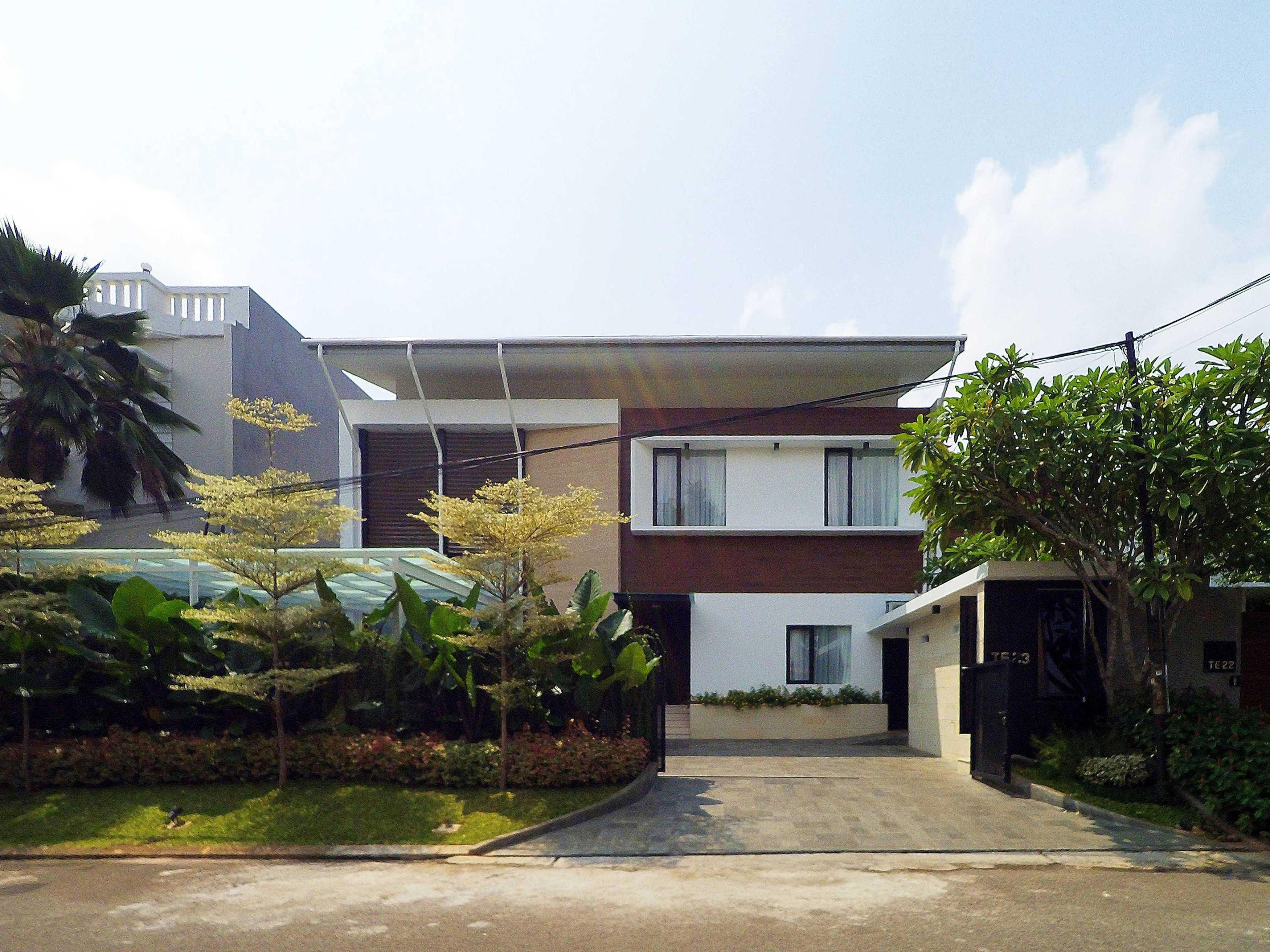 Dezan Studio Yn Residence Pondok Indah, Jakarta Pondok Indah, Jakarta Front View Modern  15117