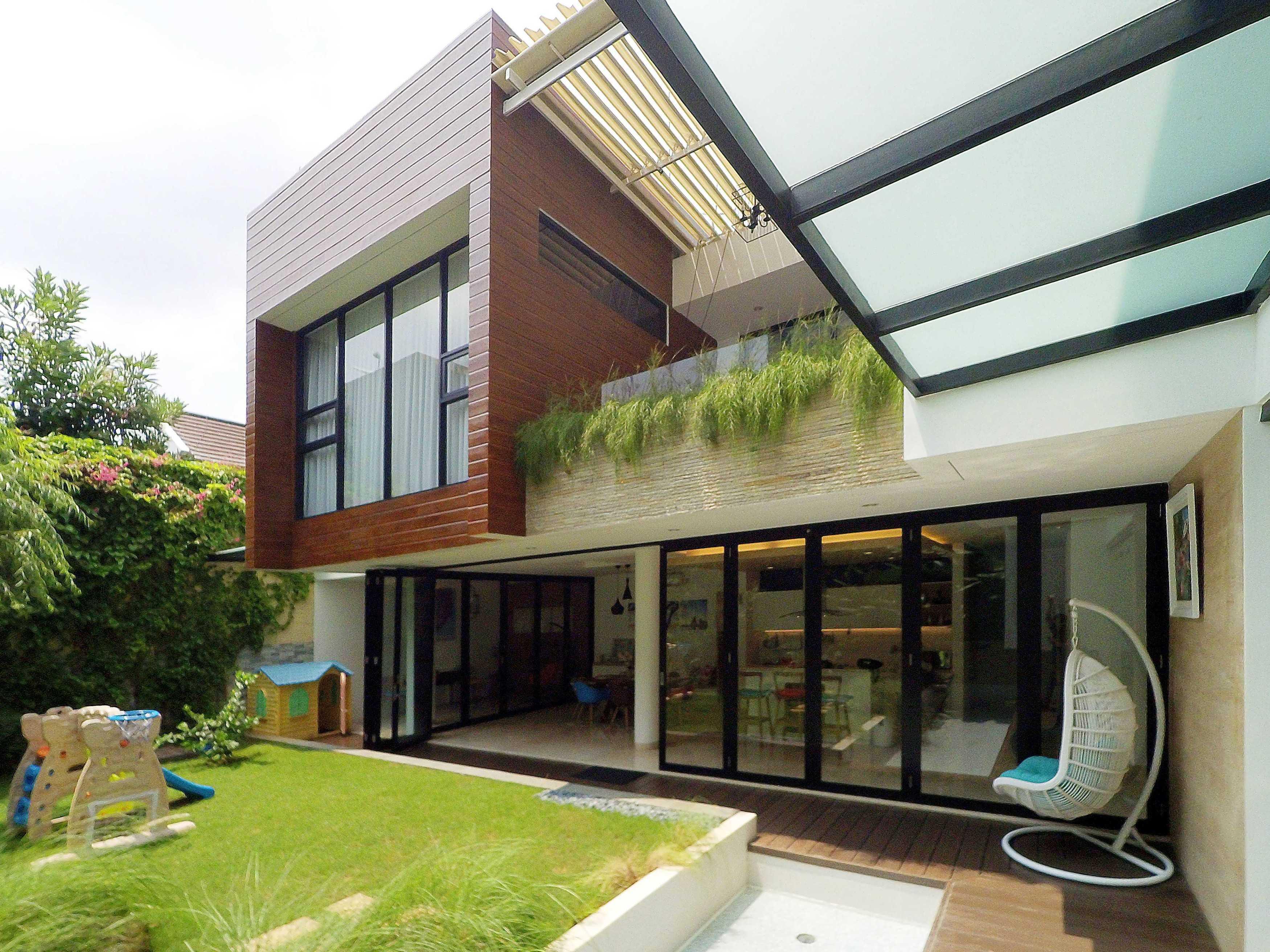 Dezan Studio Yn Residence Pondok Indah, Jakarta Pondok Indah, Jakarta Halaman Modern  15119