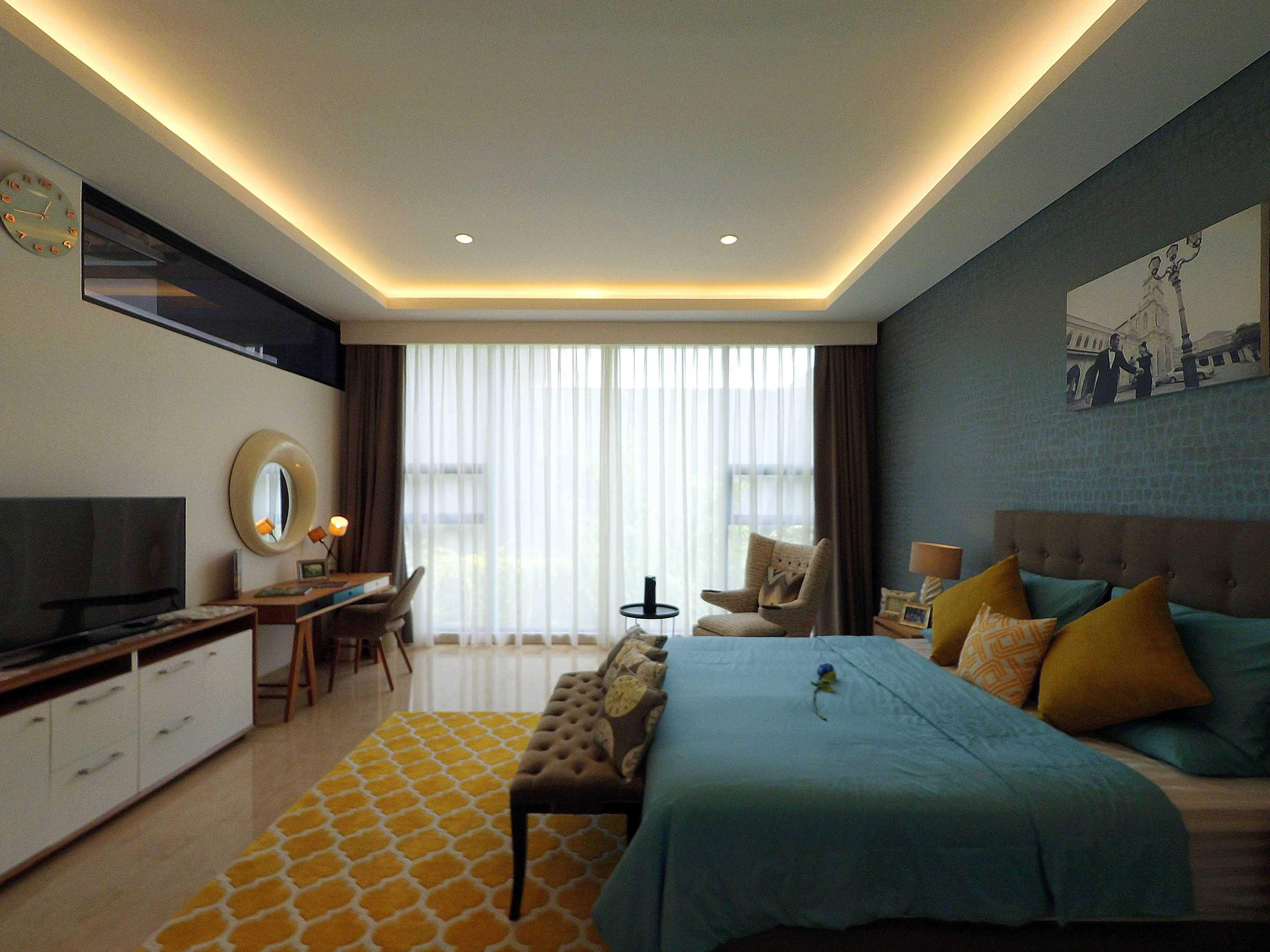 Dezan Studio Interior - Master Bedroom Pondok Indah,  Jakarta Pondok Indah,  Jakarta Bedroom Area Skandinavia  19401