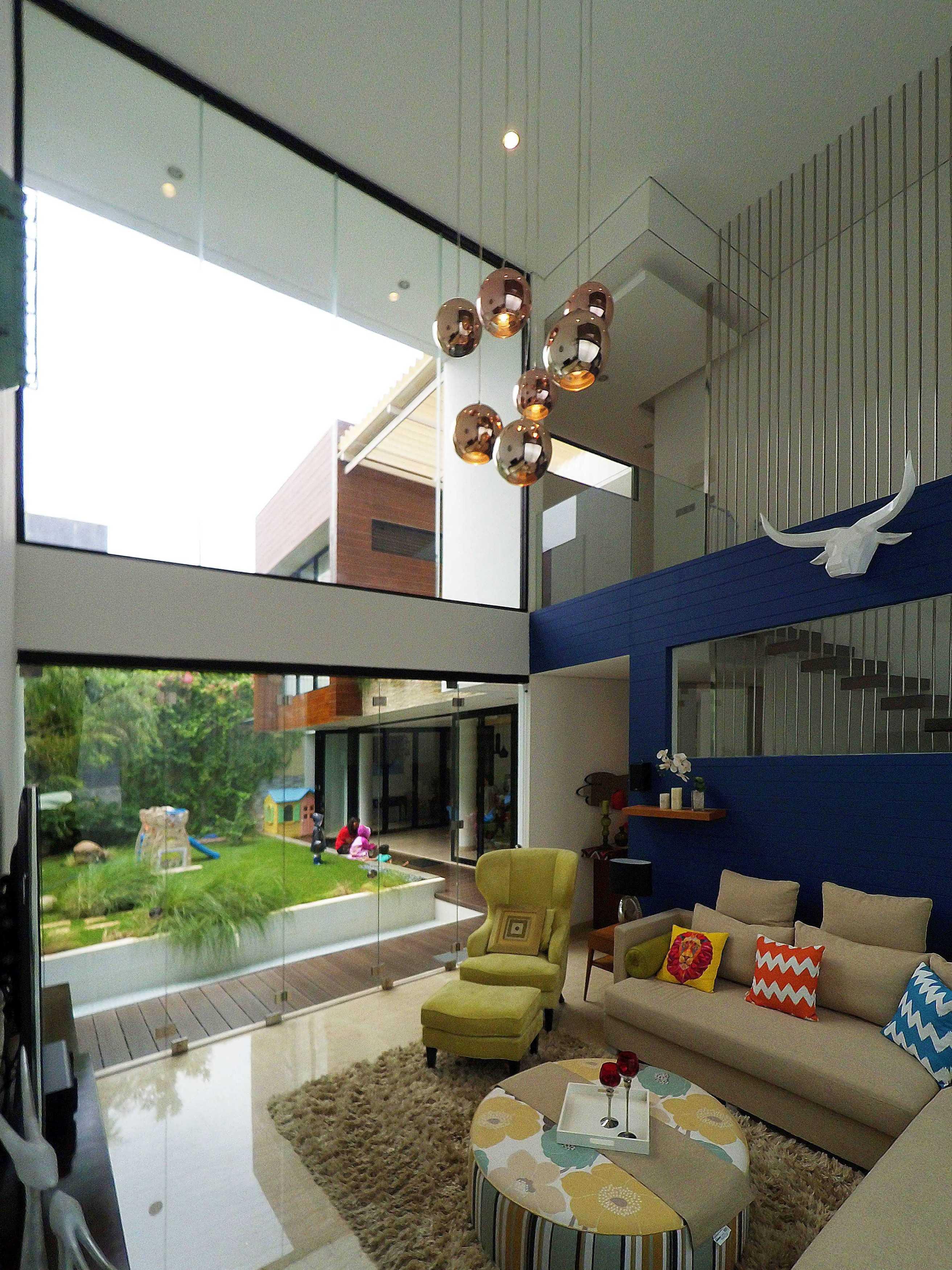 Dezan Studio Interior - Pondok Indah Pondok Indah Pondok Indah Livingroom Tropis  19406