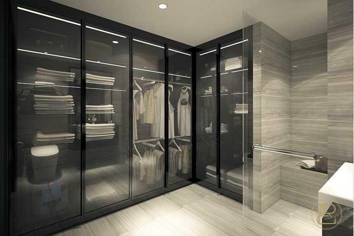 Arci Design Studio Smart Apartment Unit Semarang Semarang Closet Kontemporer  13960