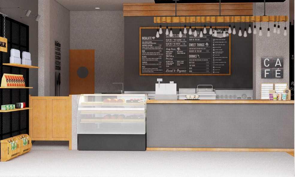 Arsindo Cipta Karya Coffee Shop Cafe Jakarta Jakarta Counter Area Modern  26042