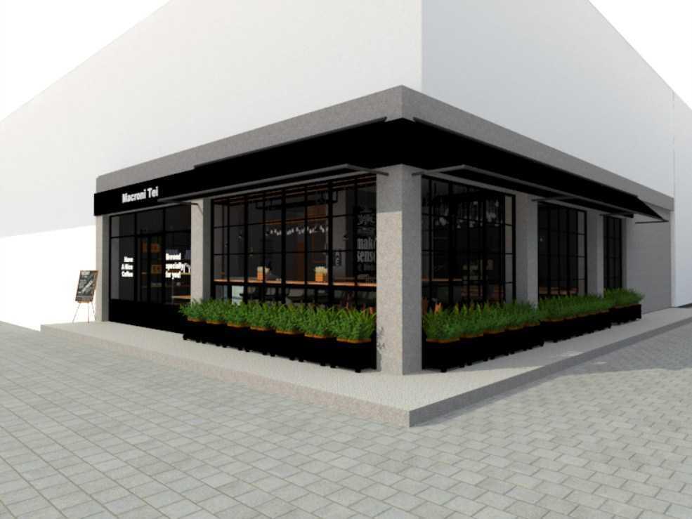 Arsindo Cipta Karya Coffee Shop Cafe Jakarta Jakarta Front View Minimalis  26046