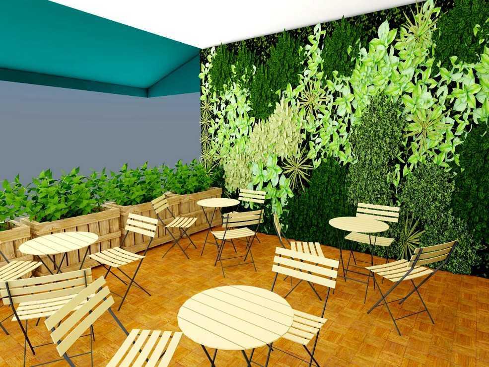 Arsindo Cipta Karya Coffee Shop Cafe Jakarta Jakarta Seating Area Tropis  26051