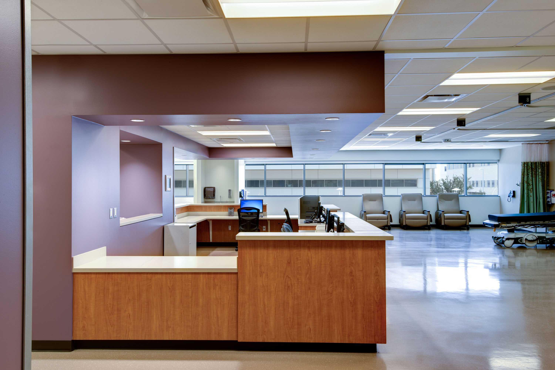 5G Studio Collaborative Ron J. Anderson Md Clinic  Dallas, Texas Dallas, Texas Receptionist Area   22493