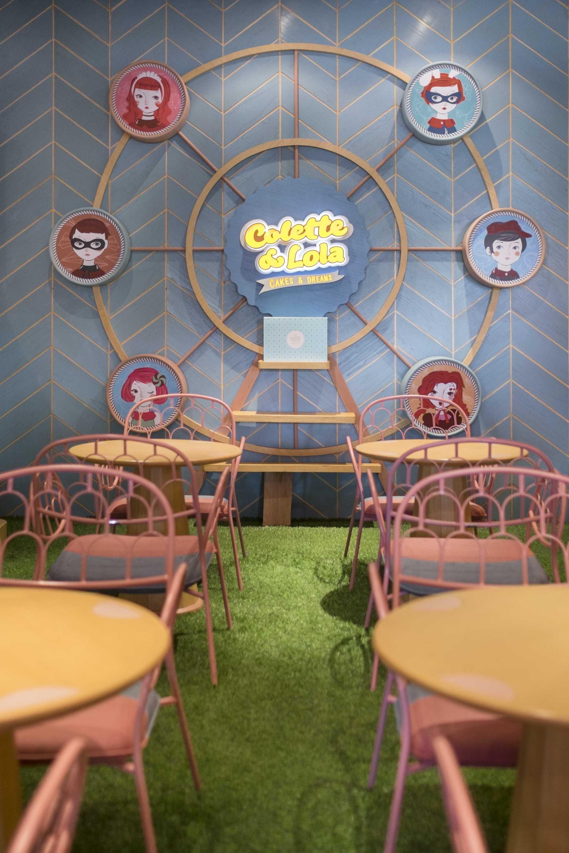 Alvin Tjitrowirjo, Alvint Studio Colette Lola Puri Indah  Puri Indah Mall, Jakarta  Puri Indah Mall, Jakarta  Chair Details Industrial  15639