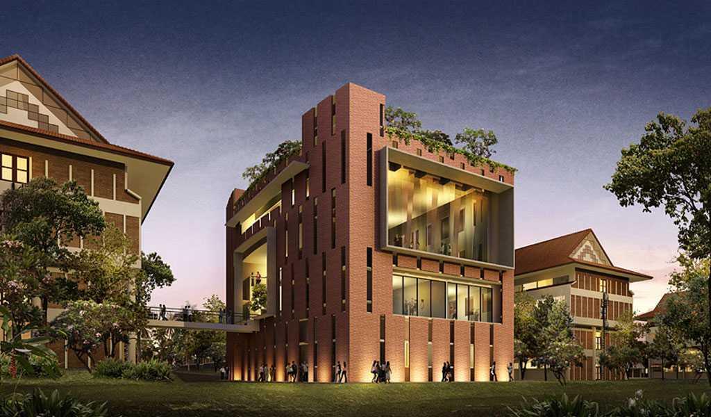 Han Awal & Partners Gedung Quantum Elektro Ui Universitas Indoesia  Universitas Indoesia  Building View   15268