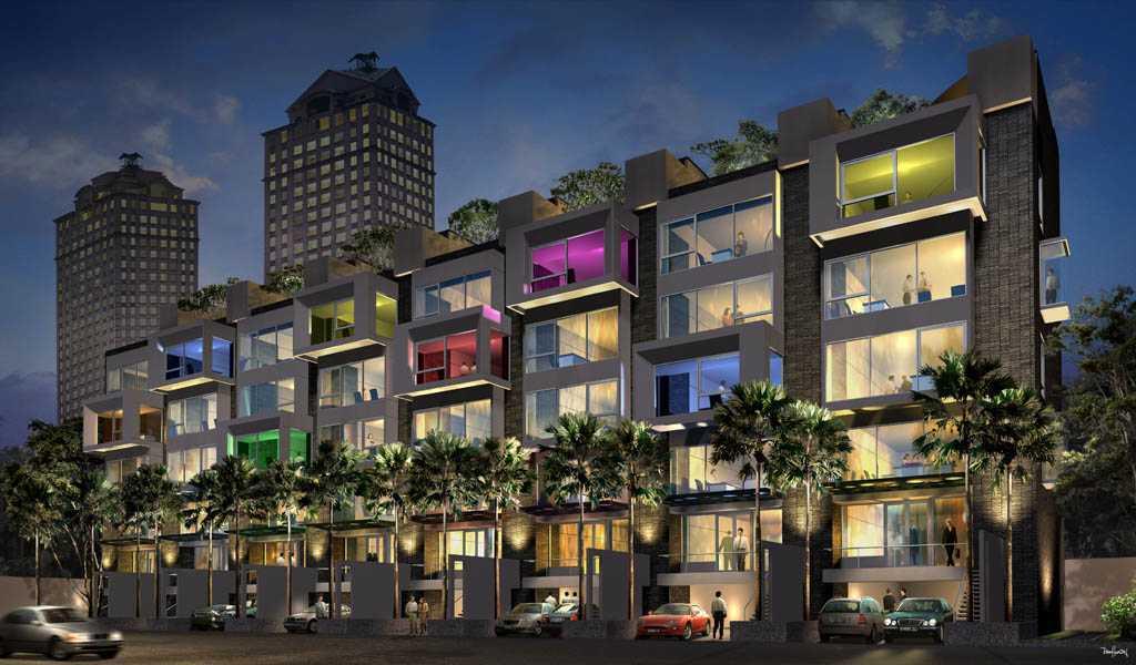 Han Awal & Partners  Sahid Office Boutique Jakarta Jakarta Front View Modern  15276