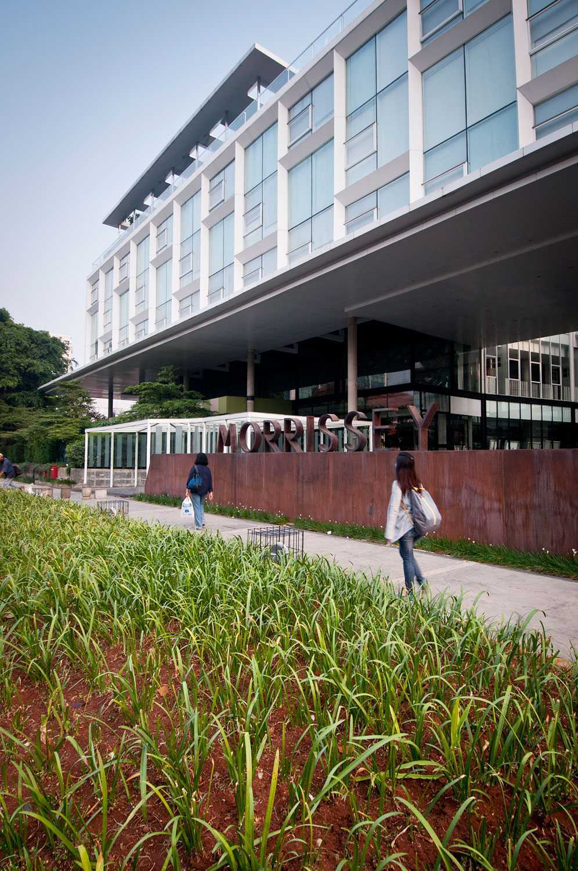 Aboday Architect Hotel Morrissey Jakarta, Indonesia Jakarta, Indonesia Walkway Contemporary  15365