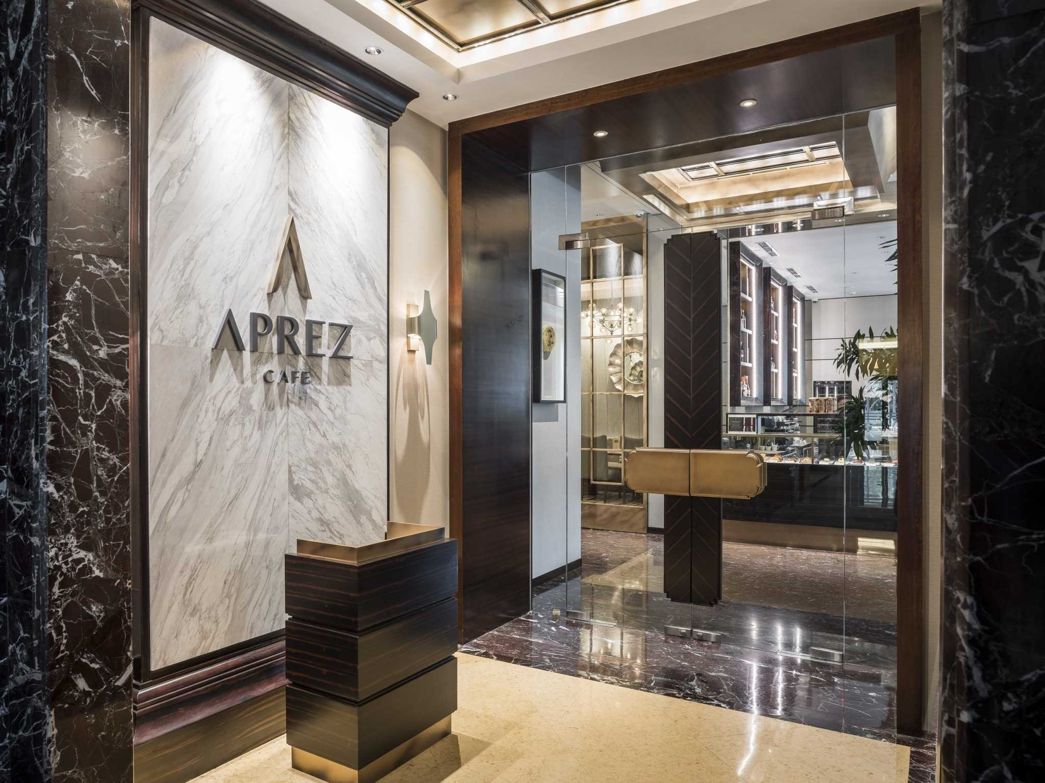 Vin•da•te The Aprez Cafe - Pakubuwono Jakarta-Indonesia Jakarta-Indonesia Entrance Door Contemporary  15786