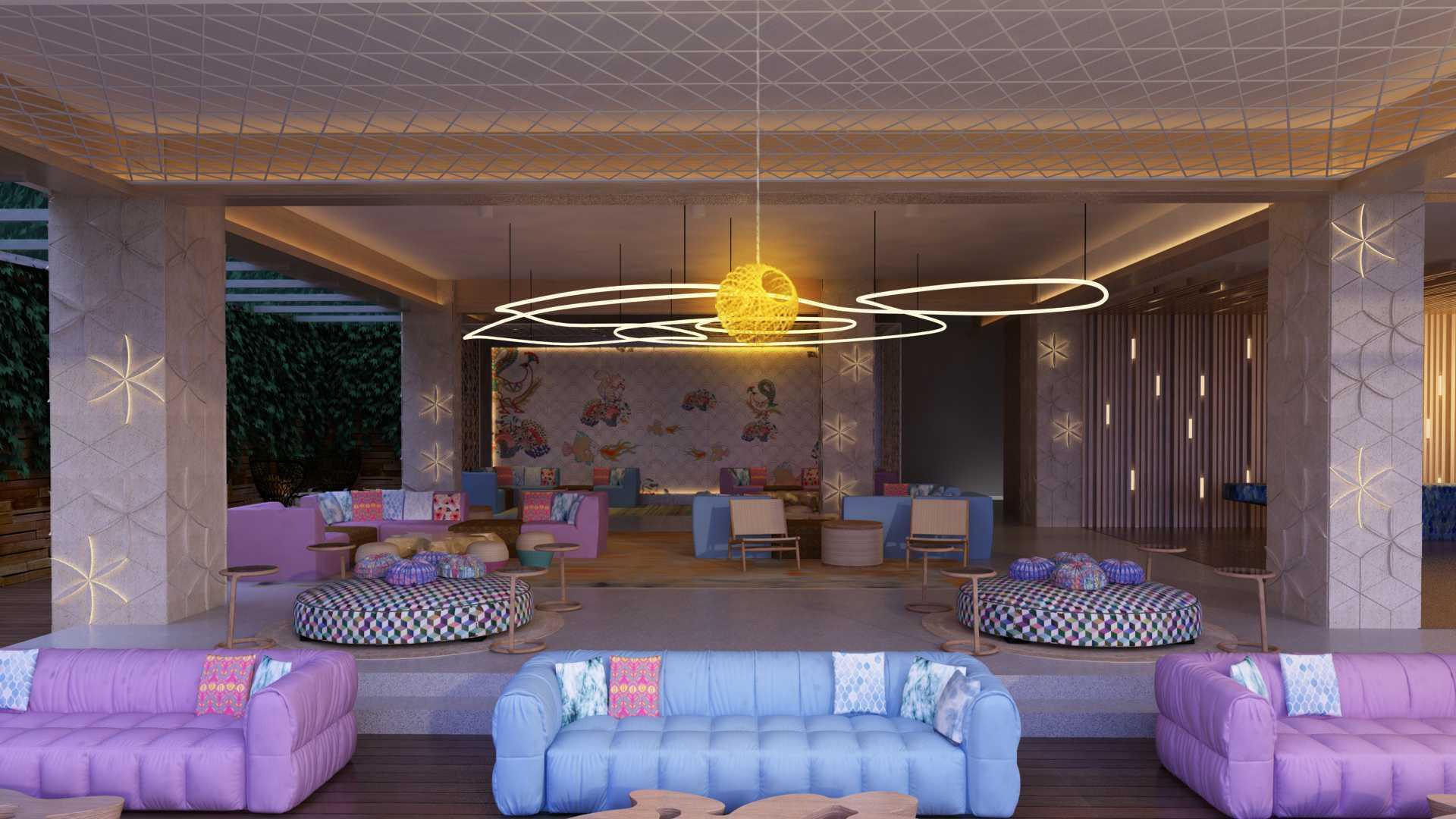 Vin•da•te Hotel Canggu Beach Bali - Indonesia Bali - Indonesia Seating Area Kontemporer  17577