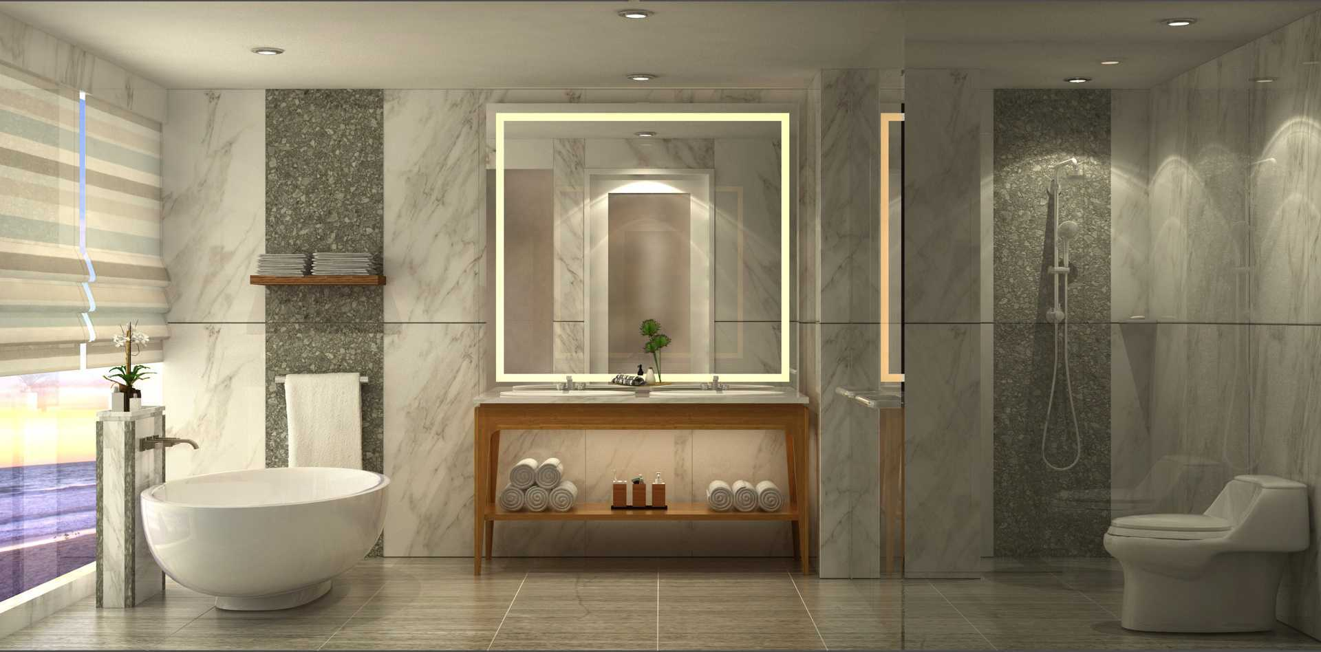 Vin•da•te Hotel Canggu Beach Bali - Indonesia Bali - Indonesia Bathroom Kontemporer  17582