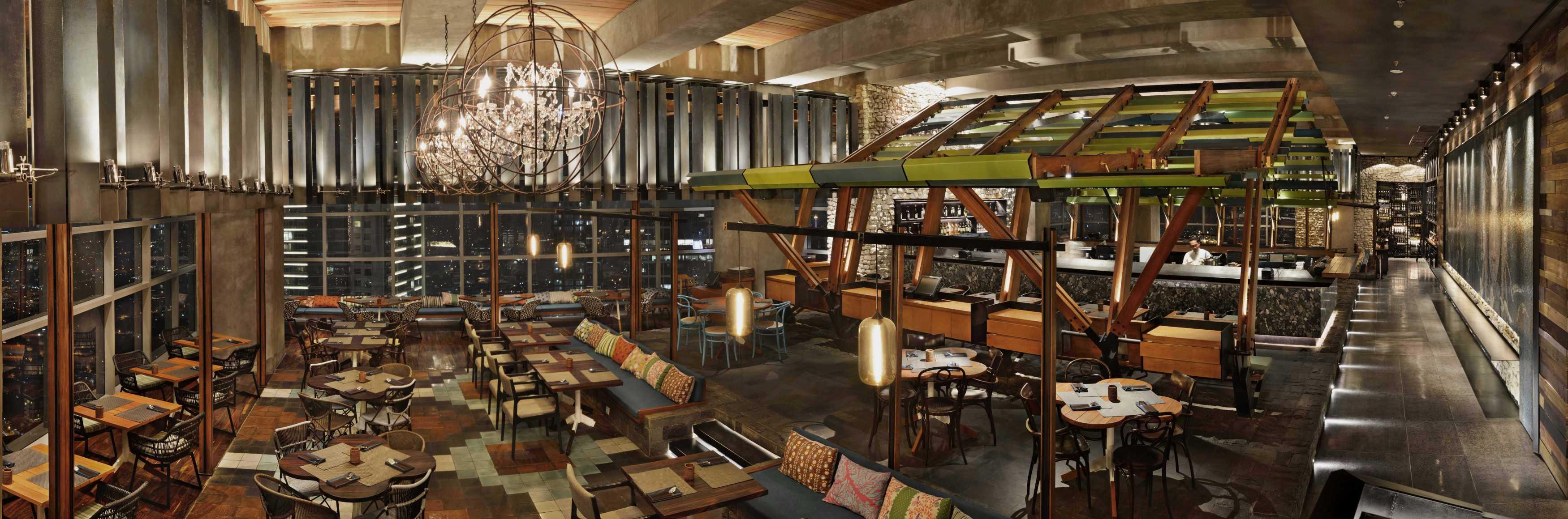 Willis Kusuma Architects Skye Jakarta, Indonesia Jakarta, Indonesia Restaurant Area   15904