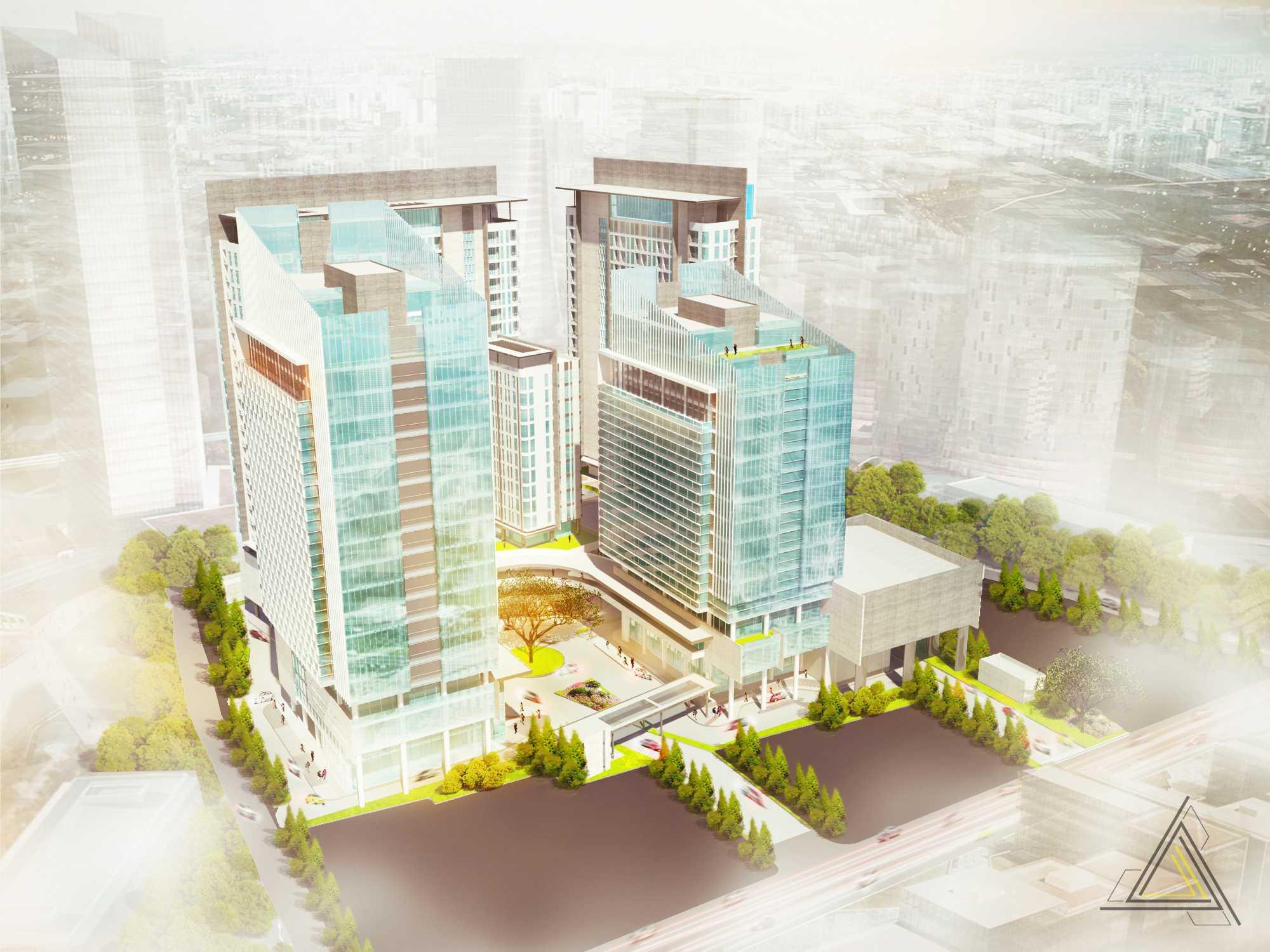 Dap Studio Dewi Sartika Mixed Used Building Jakarta Jakarta Bird Eye   20832