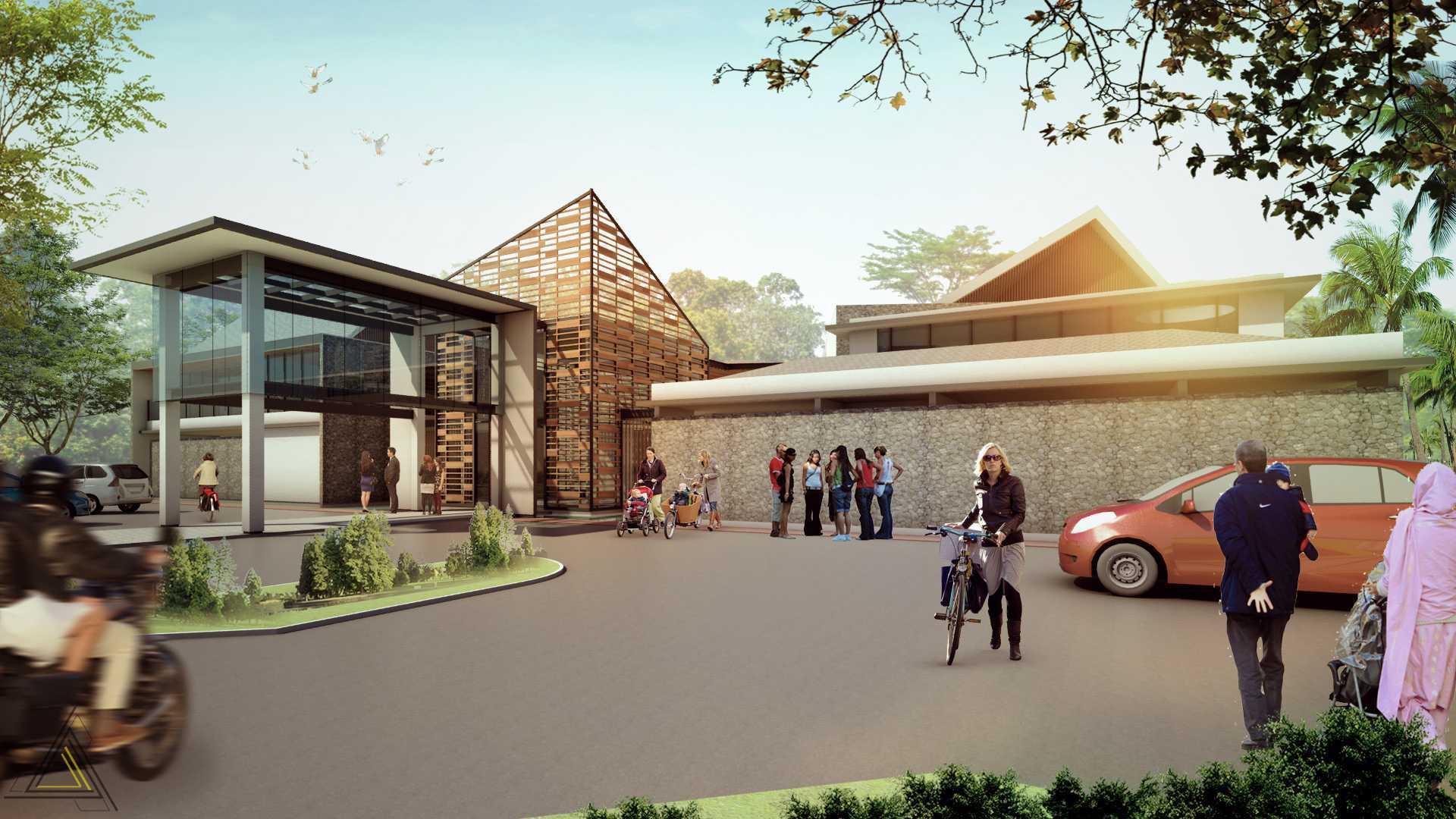 Dap Studio Ciater Spring Vallley Clubhouse Subang Subang Front View   20847