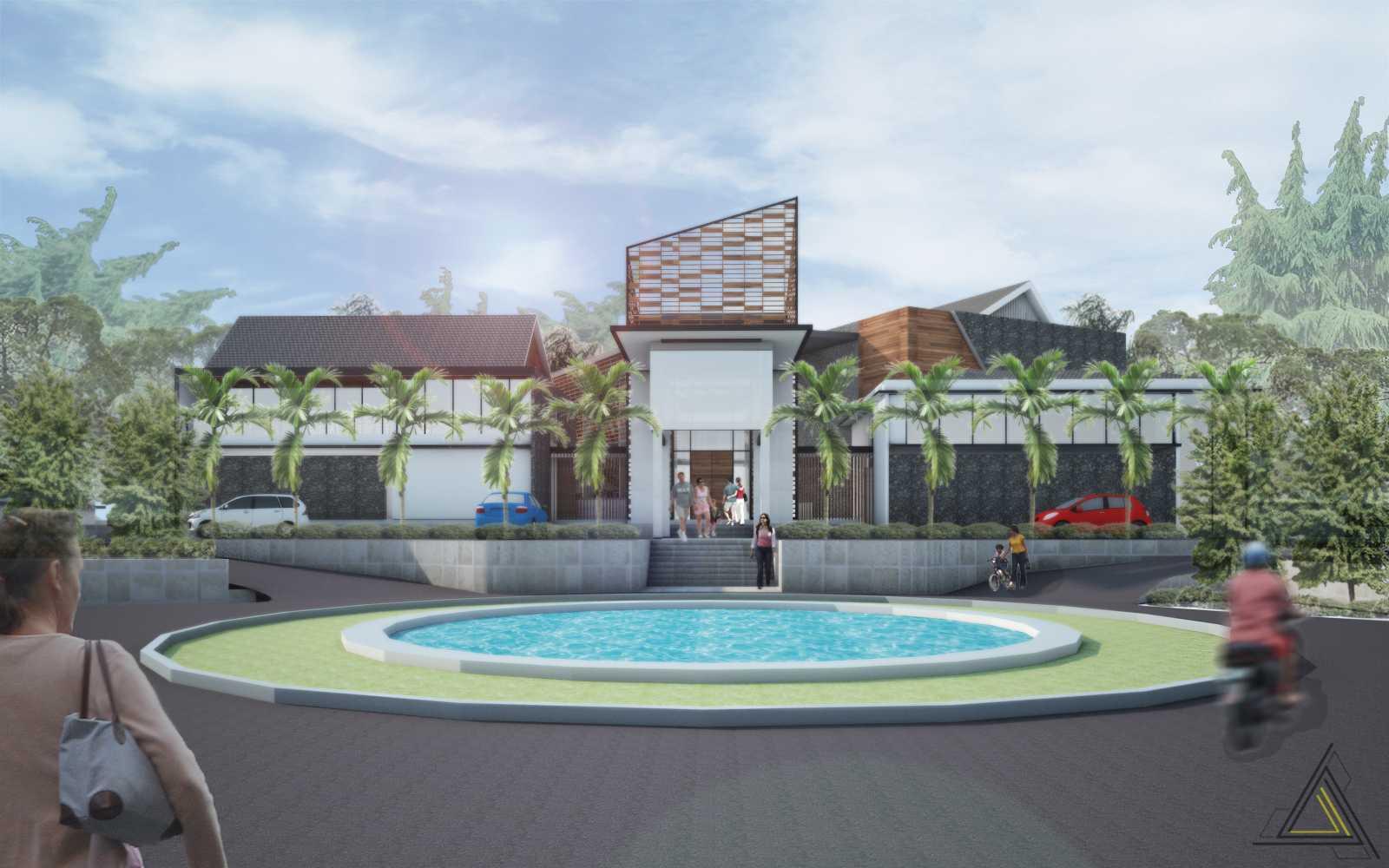 Dap Studio Ciater Spring Vallley Clubhouse Subang Subang Front View   20848