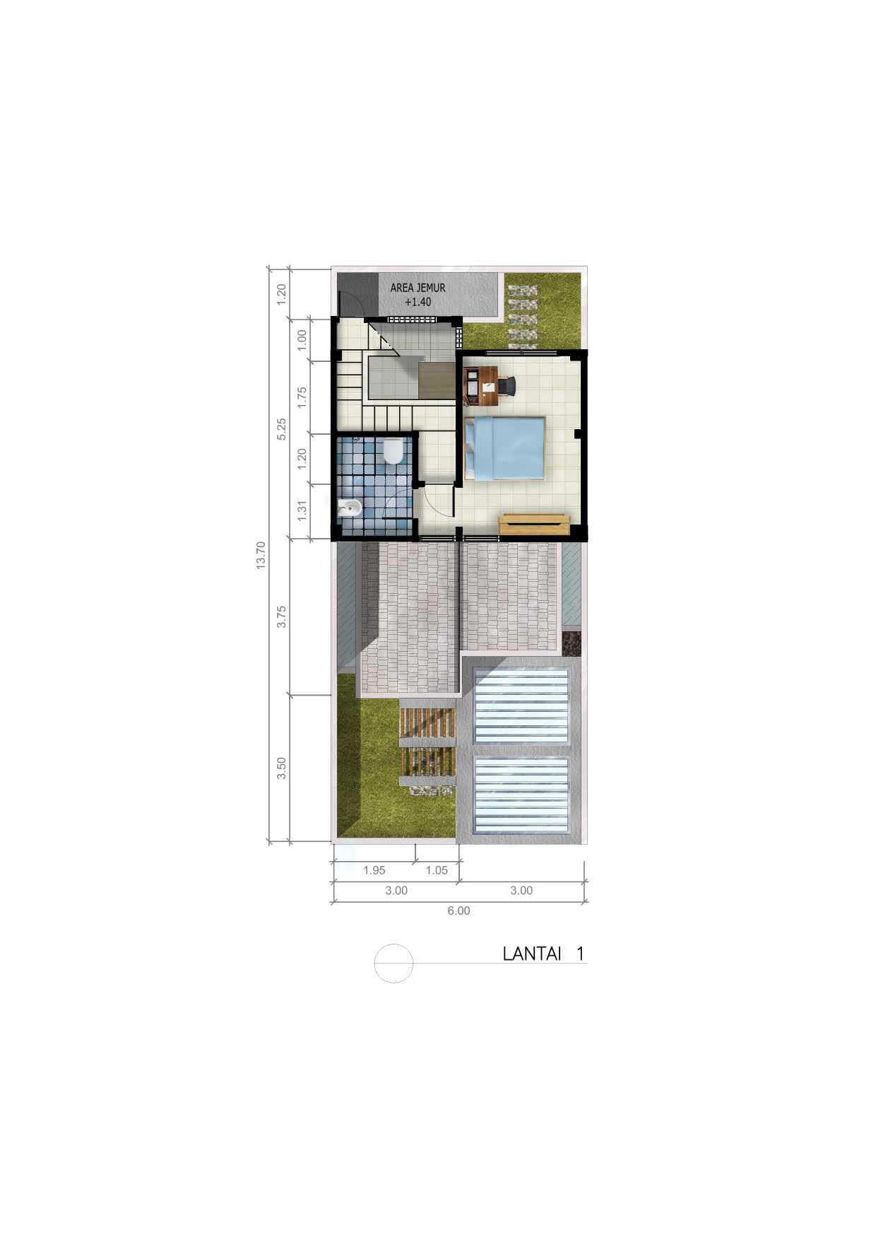 Dap Studio Rumah Bsd Tangerang Tangerang First Floor Plan   20926
