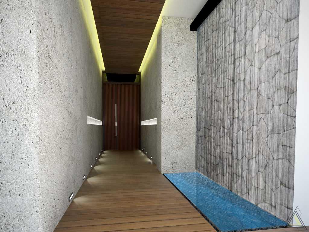 Dap Studio Kemang House Jakarta Jakarta Koridor Pintu Utama   20932