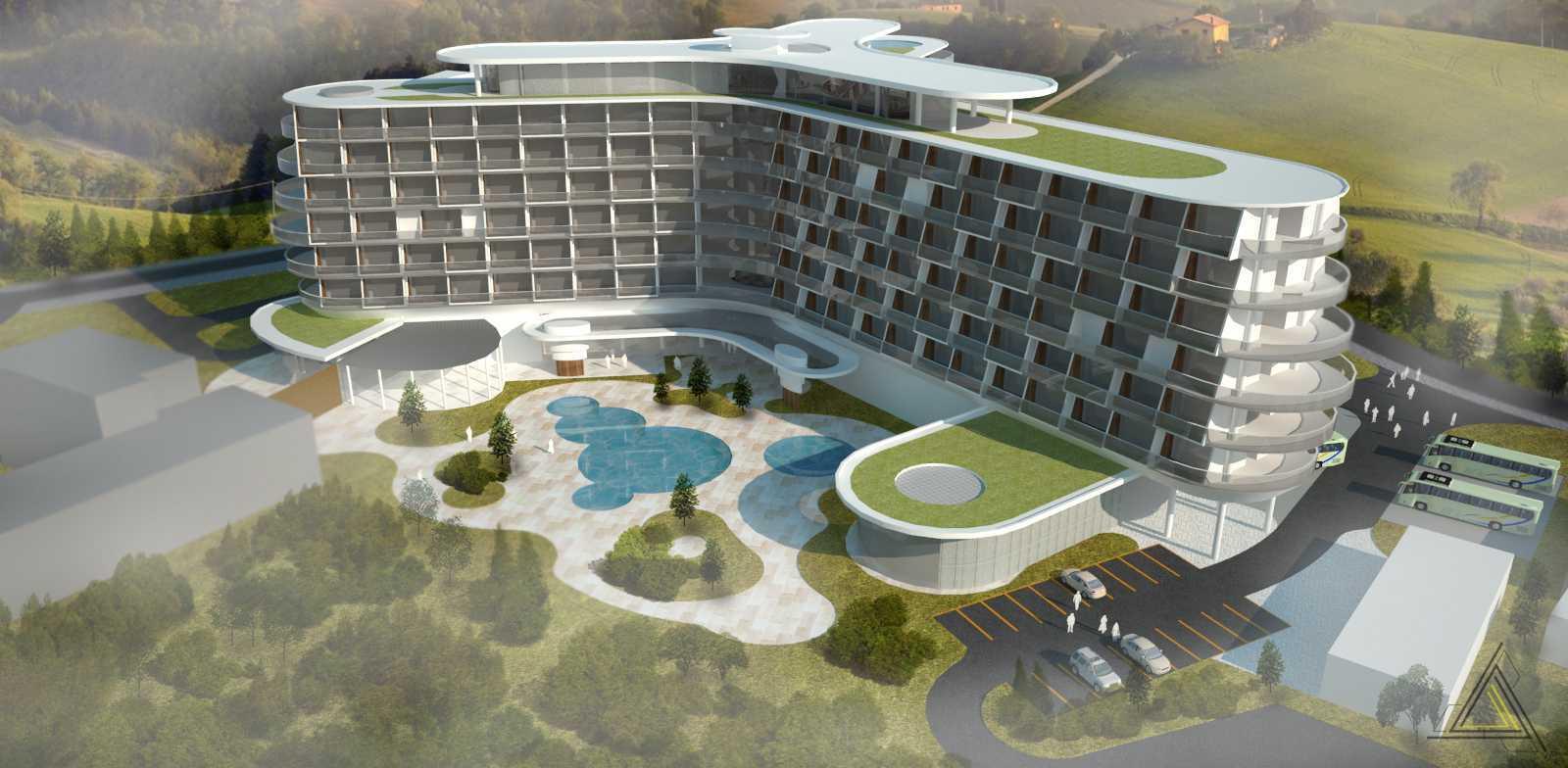 Dap Studio Panorama Hotel Lembang, Bandung Lembang, Bandung Bird Eye View   20940