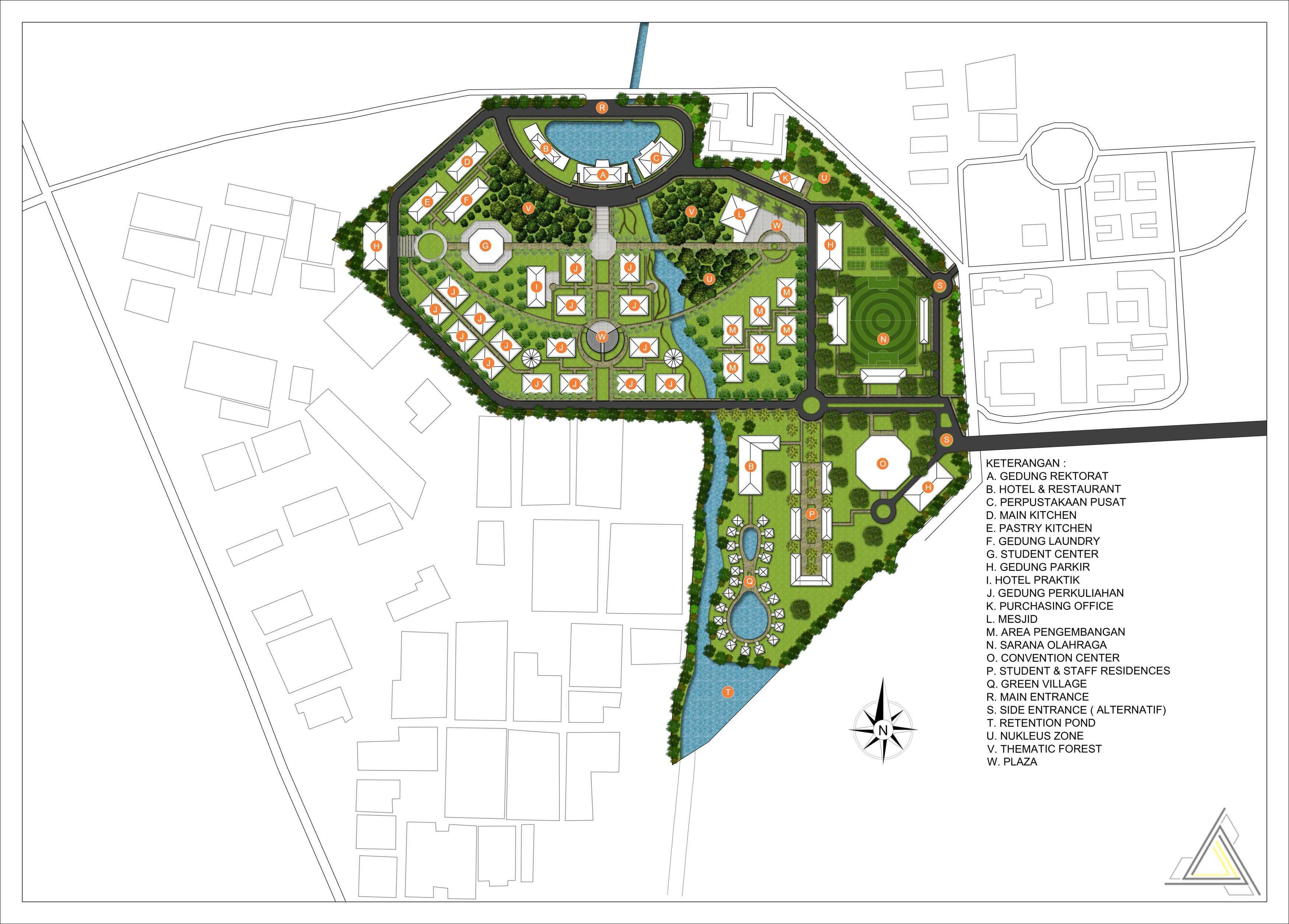Dap Studio Sekolah Tinggi Pariwisata Bandung Bandung Bandung Siteplan   21022