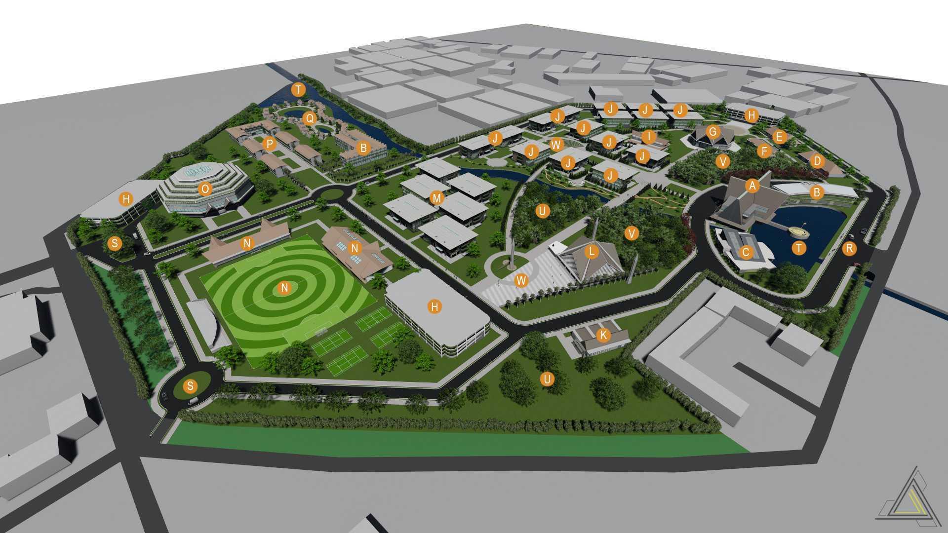 Dap Studio Sekolah Tinggi Pariwisata Bandung Bandung Bandung Masterplan   21025