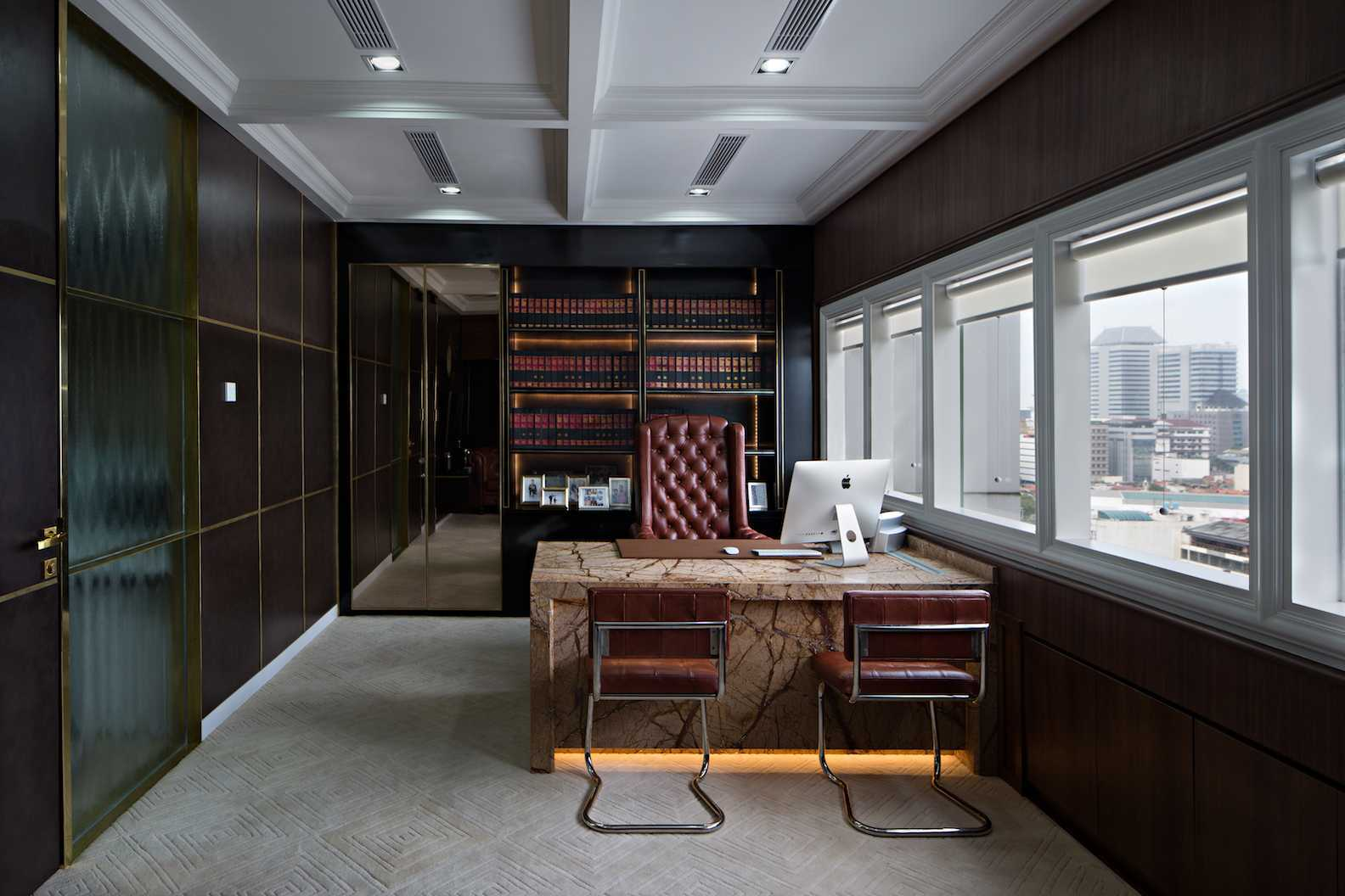 Pt Asa Adiguna Hanis & Hanis Advocate Sarinah Building Sarinah Building Office Room Minimalis  24580