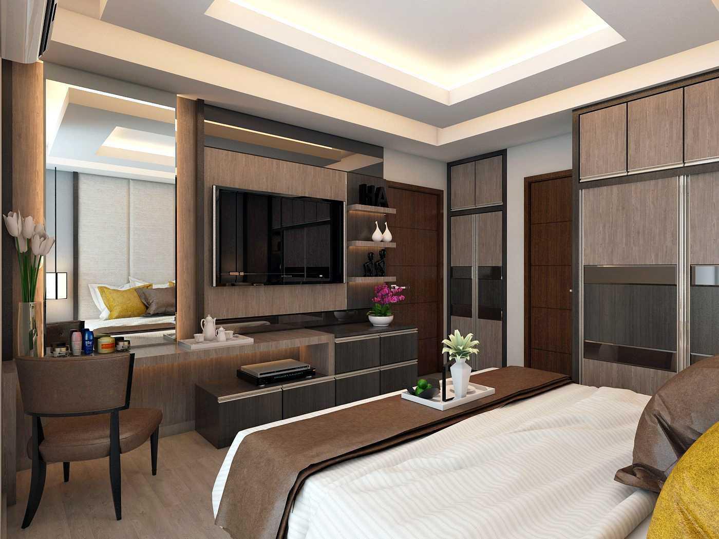 Habibullah Alfatih Condominium - Greenbay Pluit Jakarta, Indonesia Jakarta, Indonesia Master-Bedroom-1 Kontemporer  35908
