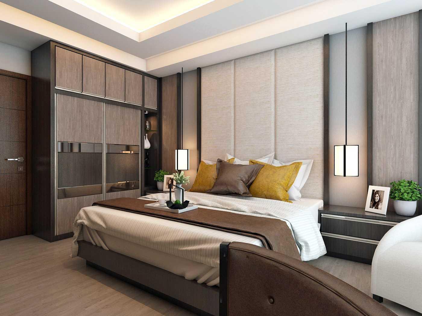 Habibullah Alfatih Condominium - Greenbay Pluit Jakarta, Indonesia Jakarta, Indonesia Master-Bedroom-4 Kontemporer  35910
